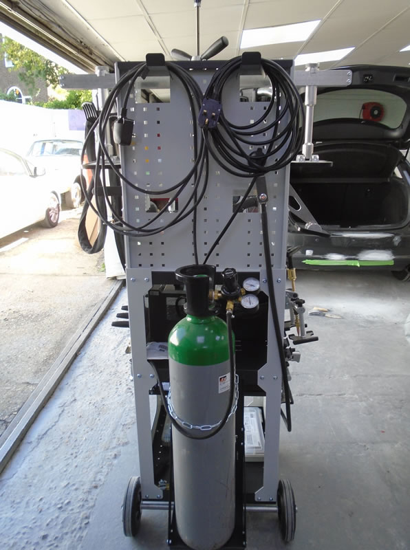 GYS Speedline Ali/Steel pulling system.